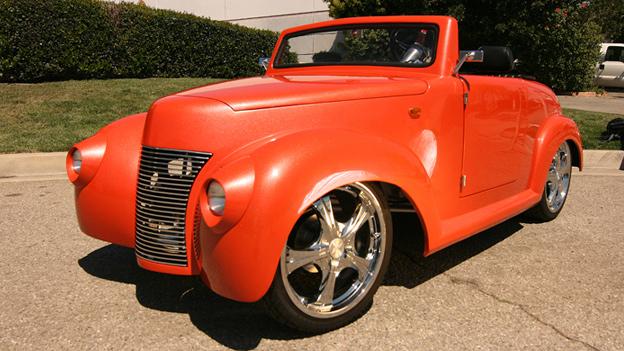 Roadster Orange Bomb